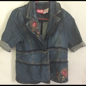 Little girls jean jacket